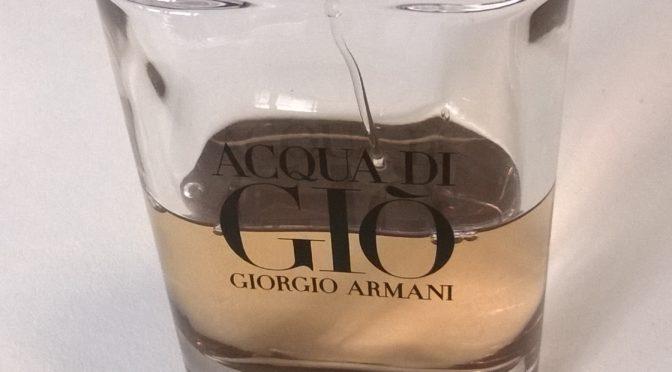 Acqua di Gio Absolu -Giorgio Armani - recenze