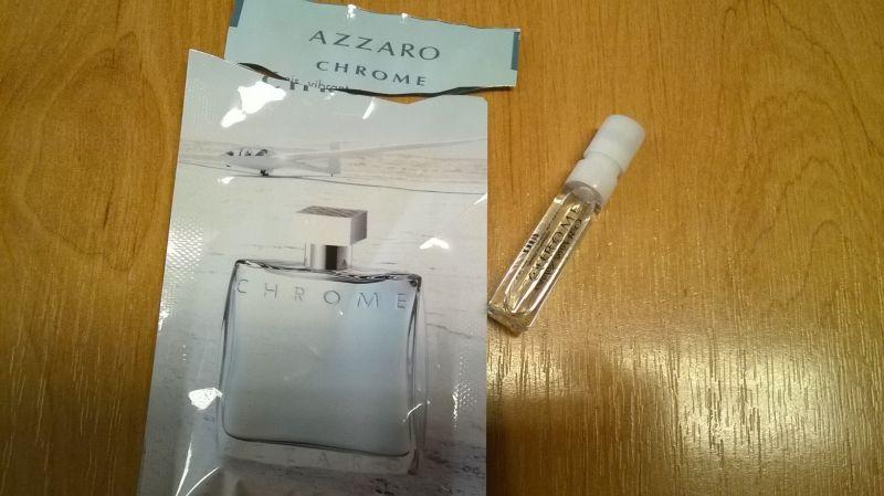 Chrome - Azzaro - recenze