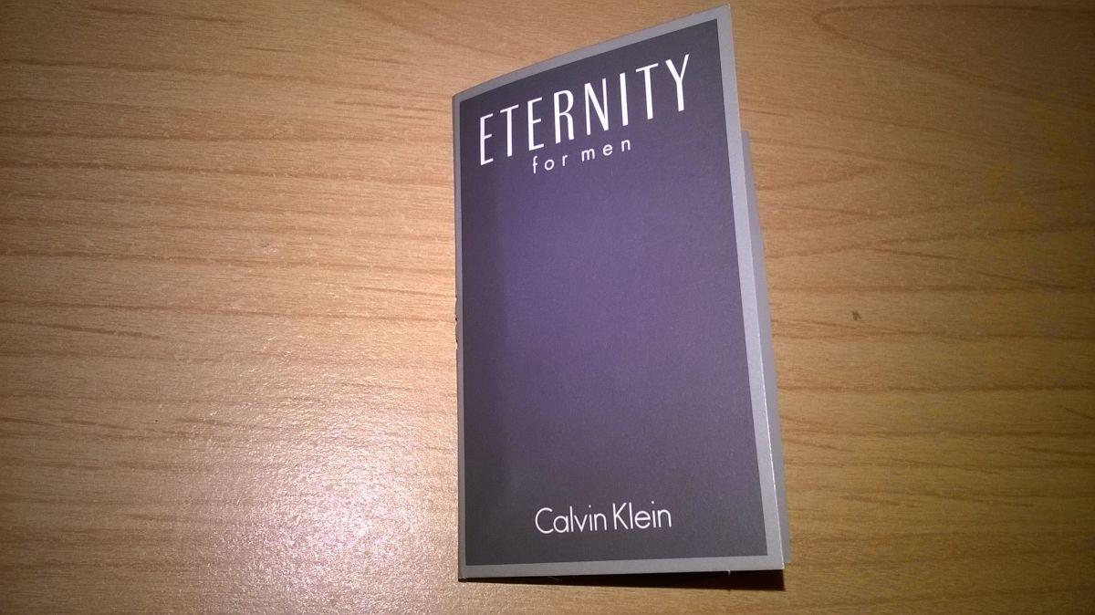 Eternity for Men vzorek