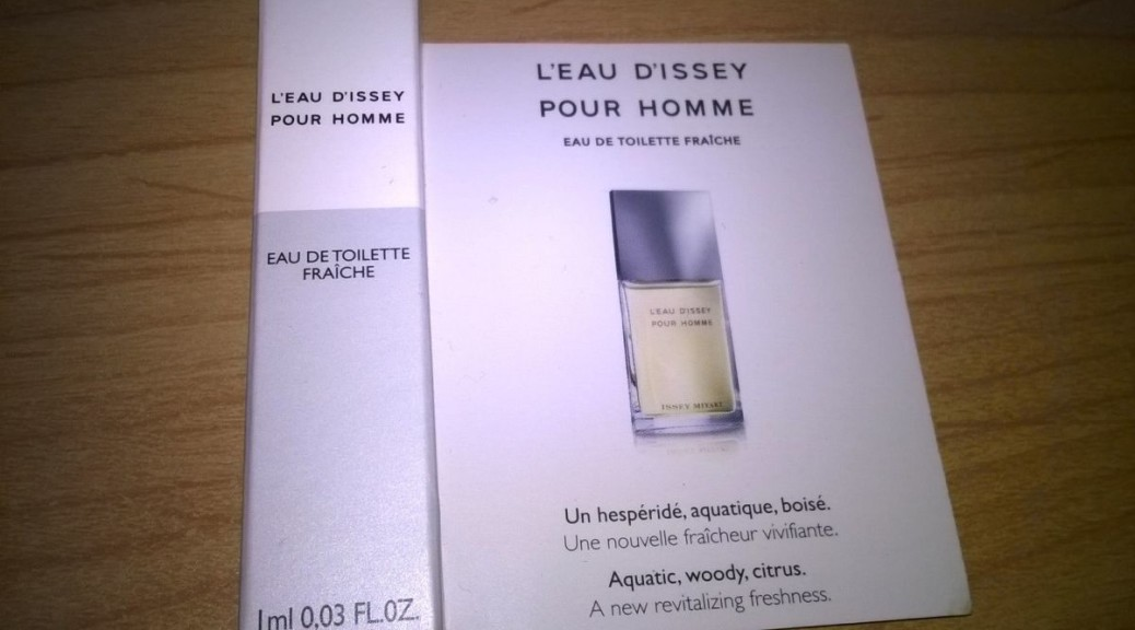 L'Eau d'Issey Pour Homme Fraiche Issey Miyake - Issey Miyake - recenze