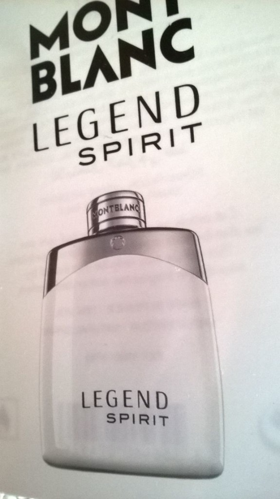 Mont Blanc Legend Spirit - flakón