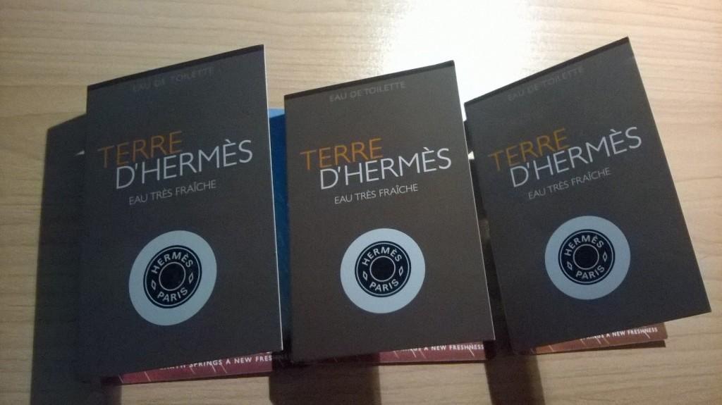 Terre D'Hermes Eau Tres Fraiche - vzorky