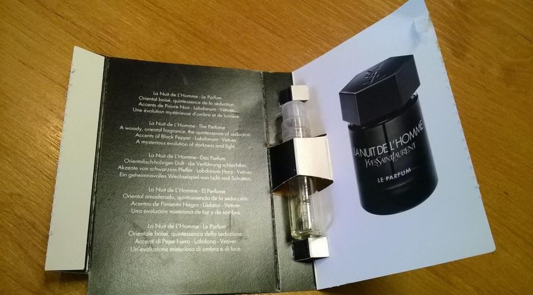 Yves Saint Laurent La Nuit De L´ Homme Le parfum - recenze