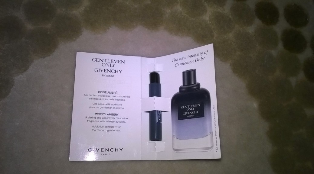 Gentlemen Only Intense - Givenchy - recenze
