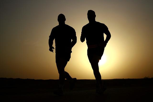 muž běžec sportovec